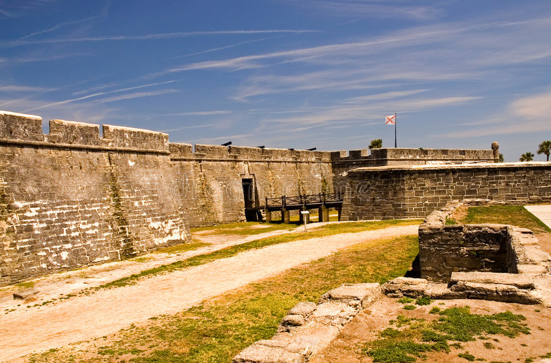 Download Fort Wall And Fort Entrance Stock Image - Image: 2298743