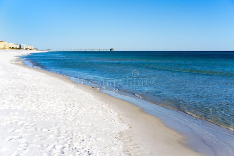 Fort Walton海滩 库存照片