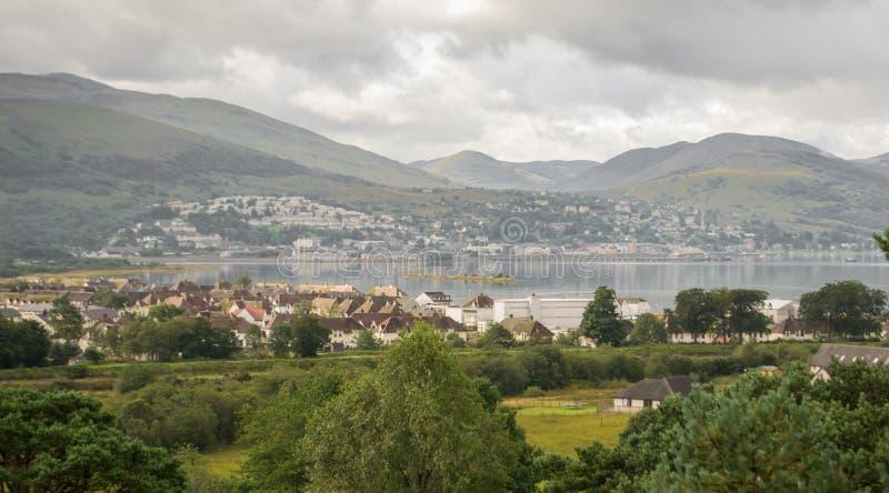 Fort William, Schottland stockbild