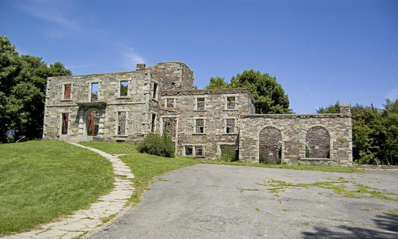 Fort Williams. At Cape Elizabeth in Maine, Usa royalty free stock images