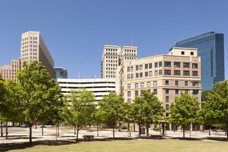 Fort Worth śródmieścia okręg Teksas, usa zdjęcia stock