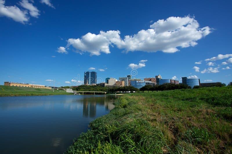 Fort Worth céntrico Tejas fotos de archivo