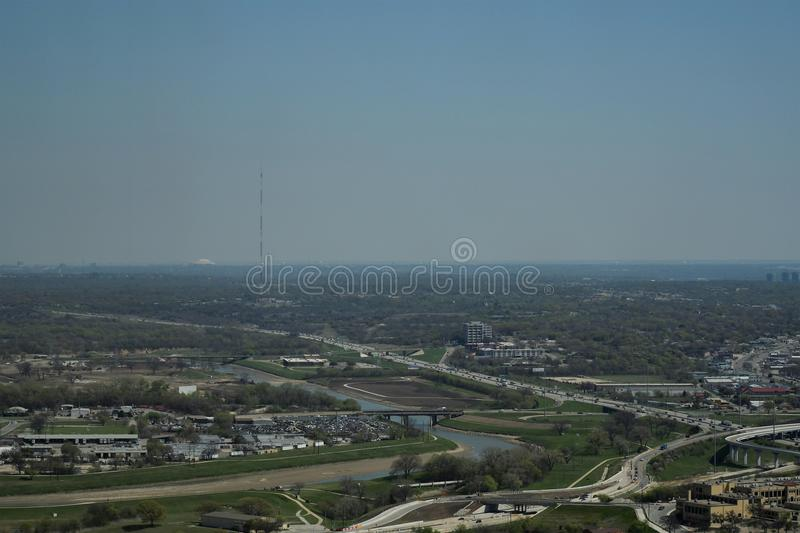 Fort Worth Cityscapes royalty free stock images