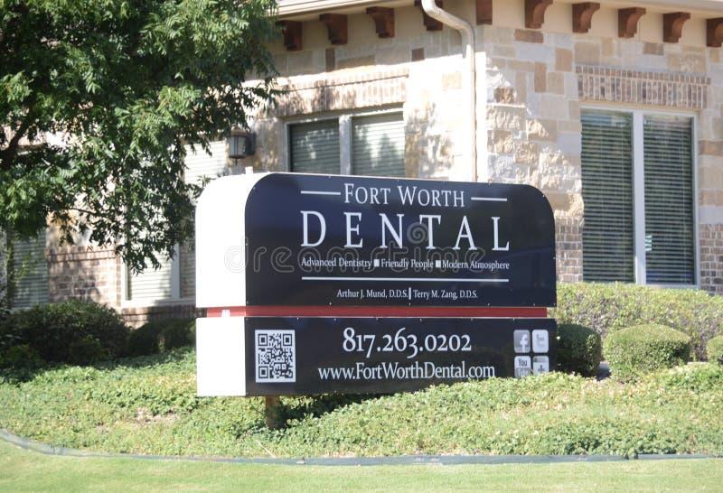 Fort Worth Dental, Fort Worth, Texas stock image
