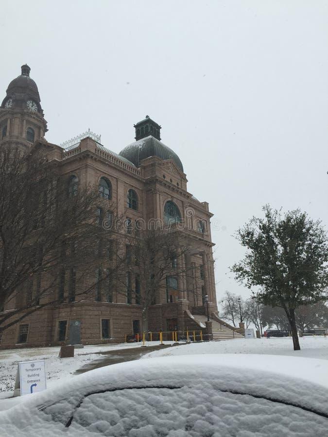 Fort Worth gmach sądu zdjęcia royalty free