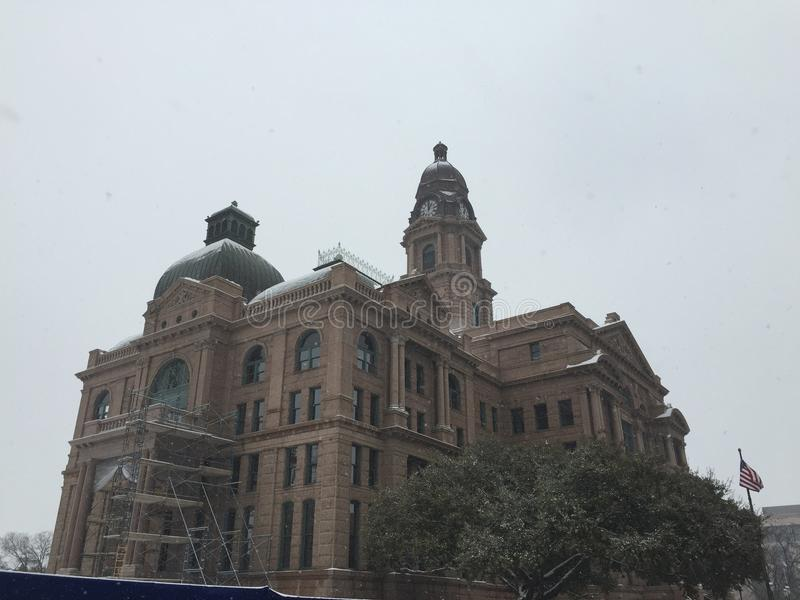 Fort Worth gmachu sądu widok zdjęcie royalty free