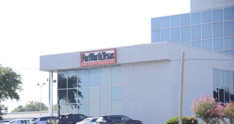 Fort Worth Texas Newpaper fotos de stock