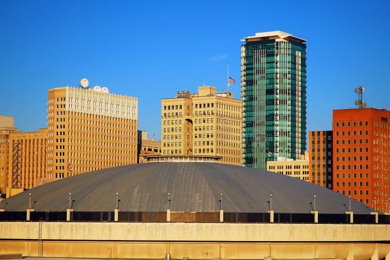 Fort Worth Texas Skyline immagini stock libere da diritti