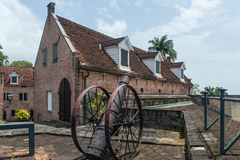 Fort Zeelandia fotografia de stock