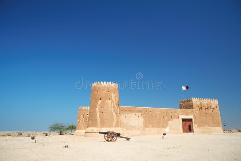 Fort Zubara images libres de droits