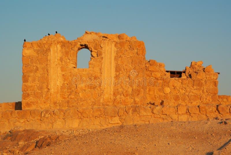 Fortalecimiento de Masada fotos de archivo libres de regalías