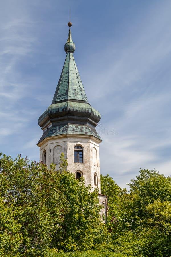Fortalecimientos de Vyborg imagenes de archivo