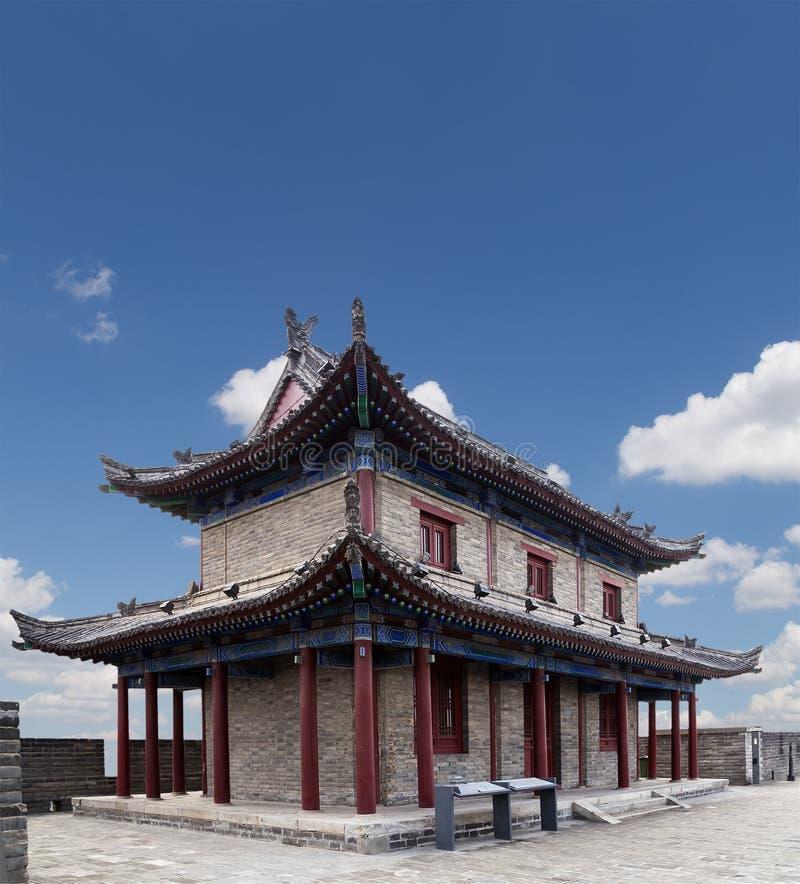 Fortalecimientos de Xian (Sian, Xi'an) una capital antigua de China imagen de archivo libre de regalías