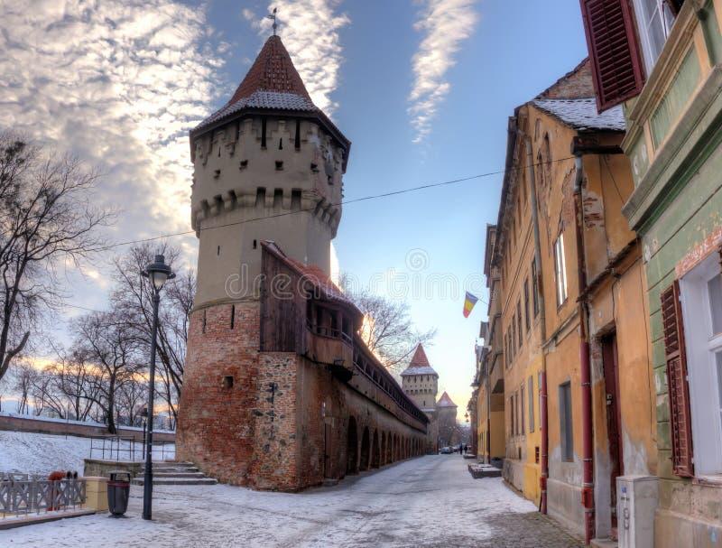 Fortalecimientos en Sibiu imagenes de archivo