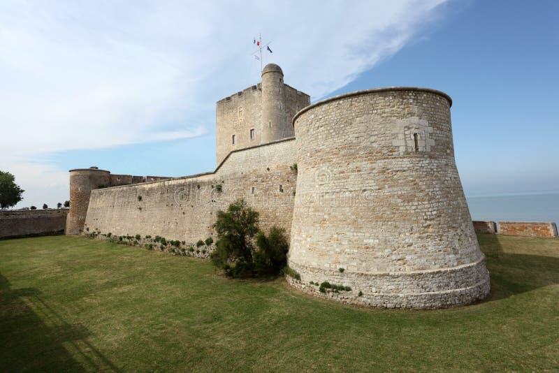 Fortaleza antiga Vauban em Fouras, França foto de stock royalty free
