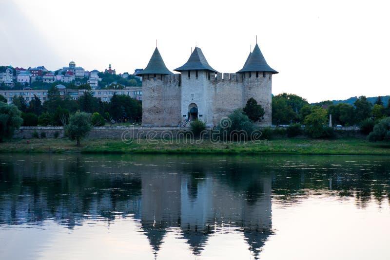 Fortaleza antigua en Soroca, el Moldavia, imagenes de archivo