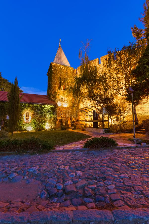 Fortaleza Beograd de Kalemegdan - Sérvia imagens de stock