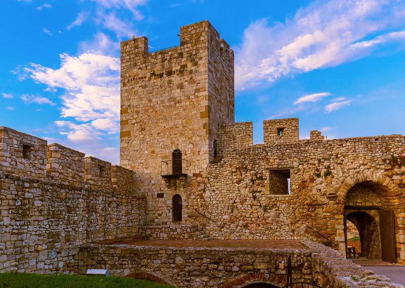 Fortaleza Beograd de Kalemegdan - Sérvia imagens de stock royalty free