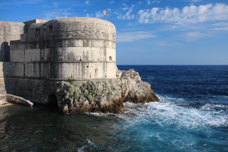 Fortaleza Bokar en Dubrovnik, Croatia foto de archivo