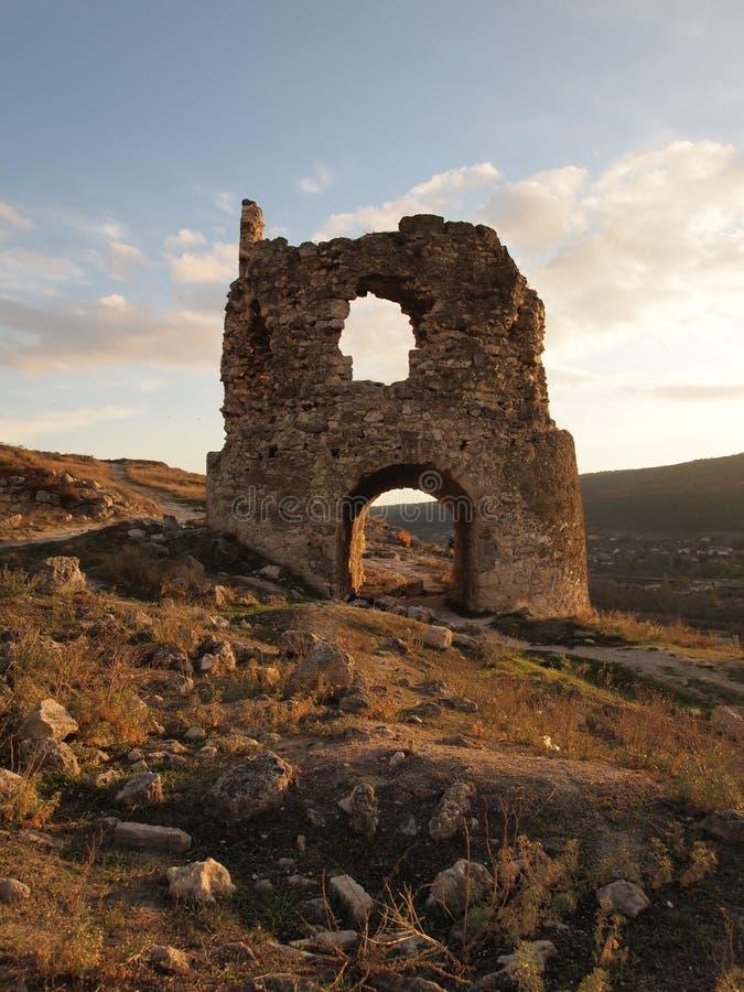 Fortaleza Calamita, Inkerman imagenes de archivo