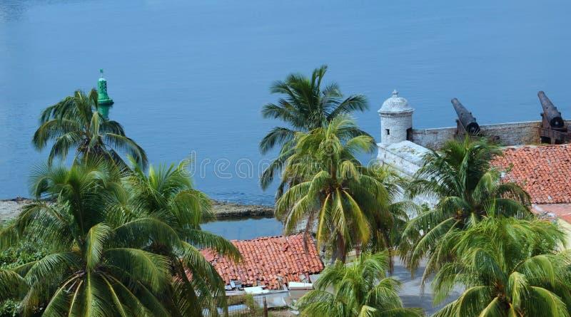 Fortaleza Castillo de los Tres Reyes del Morro imagens de stock royalty free