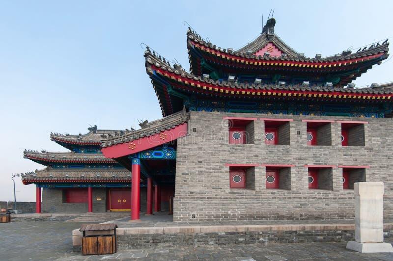 Fortaleza chinesa antiga imagens de stock