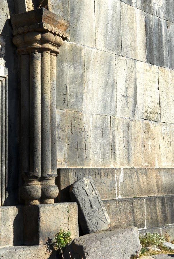 Fortaleza cristã antiga Amberd fotos de stock royalty free