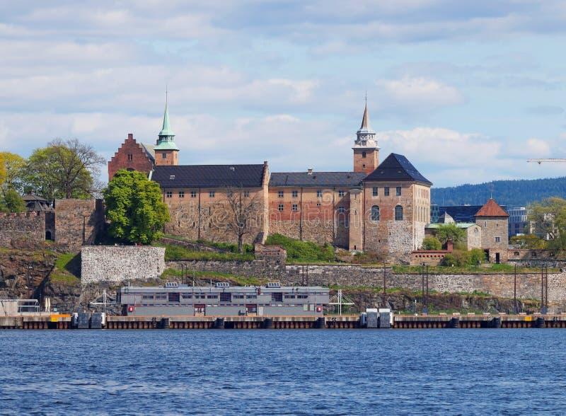 Fortaleza de Akershus (Akershus Festning), Oslo, Noruega fotografia de stock royalty free