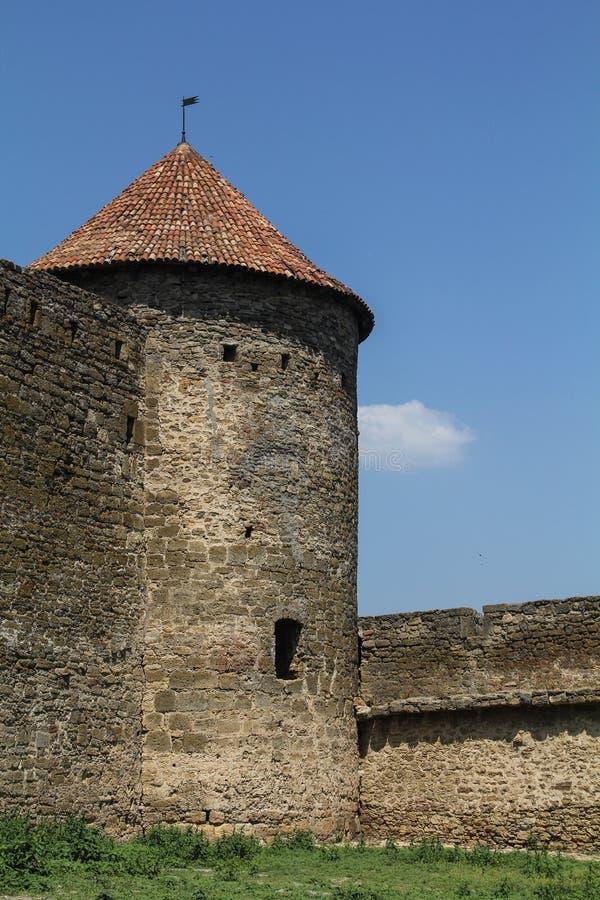 Fortaleza de Belgorod-Dnistrovsky - un monumento de la historia fotos de archivo