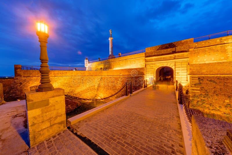 Download Fortaleza de Belgrado imagen de archivo. Imagen de fortificado - 41918035