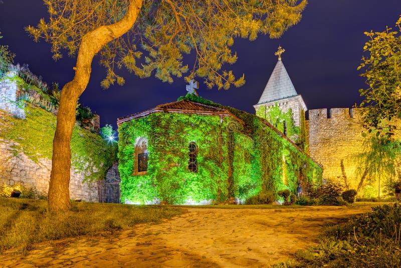 Fortaleza de Belgrado e parque de Kalemegdan imagem de stock royalty free