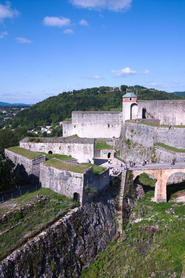 Fortaleza de Besanzón fotografía de archivo