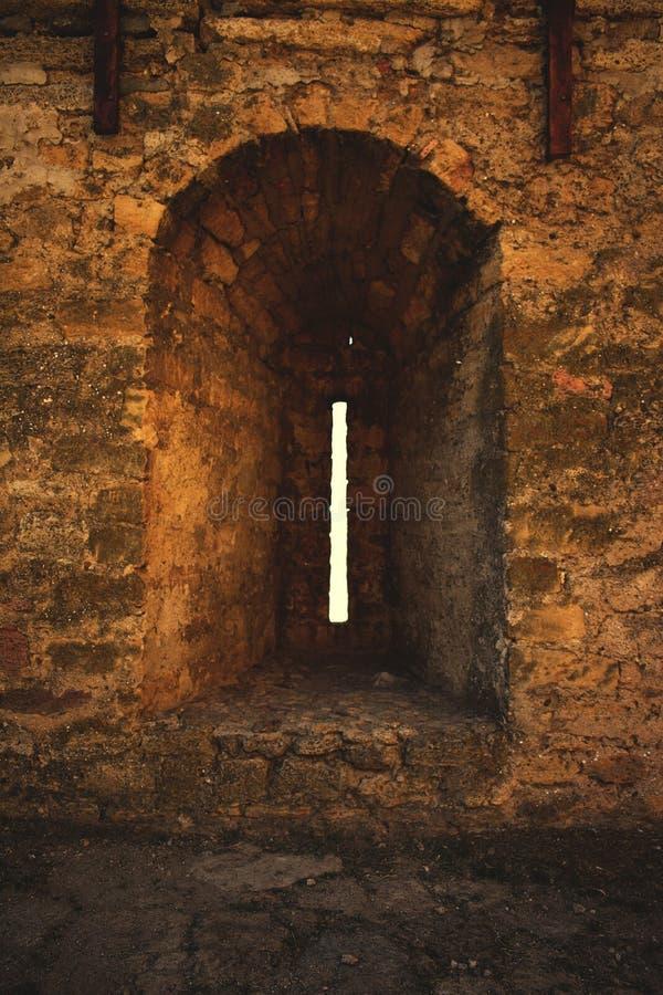 Fortaleza de Bilhorod-Dnistrovskyi o escapatoria de la fortaleza de Akkerman foto de archivo libre de regalías