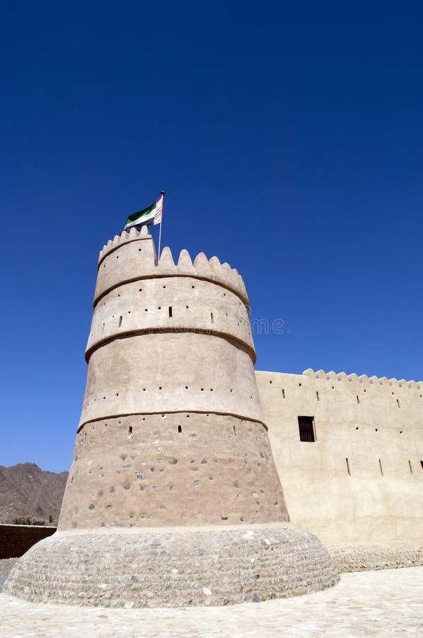 Fortaleza De Bithnah En Fudjairah United Arab Emirates Fotos de archivo libres de regalías