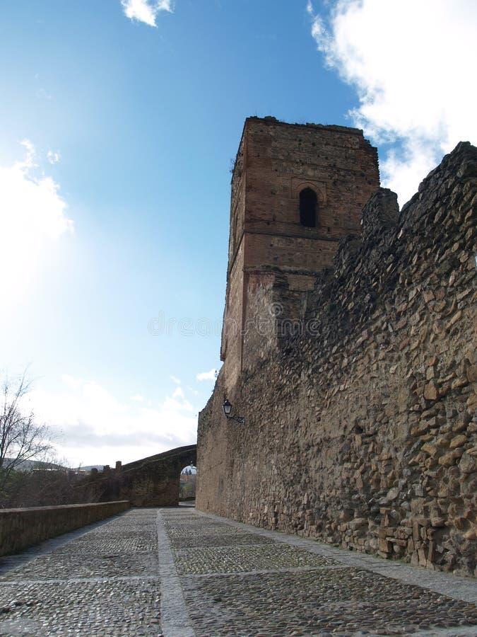 Fortaleza de Buitrago foto de stock