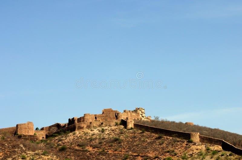 Fortaleza de Bundi foto de archivo