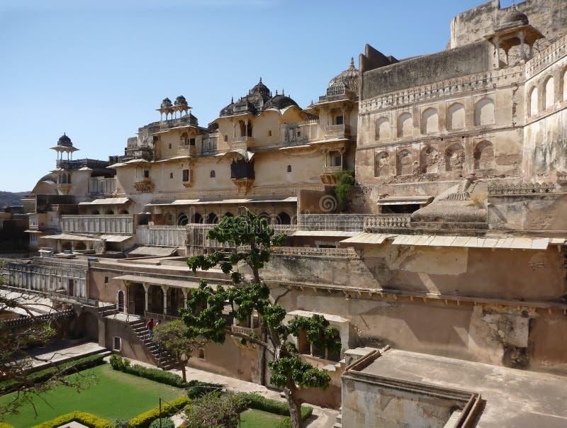 Fortaleza de Bundi, la India del palacio fotografía de archivo