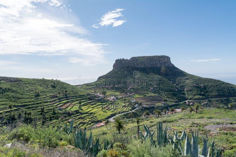 Fortaleza de Chipude, Gomera, Spain royalty free stock photography