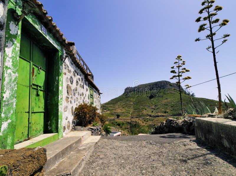 Fortaleza de Chipude su Gomera immagini stock