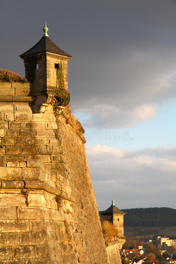Fortaleza de Coburg imagen de archivo libre de regalías