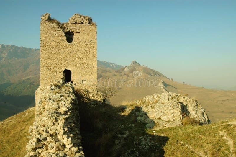 Fortaleza de Coltesti, Transilvania, Rumania fotografía de archivo libre de regalías