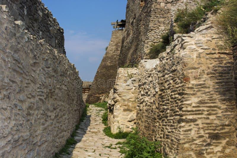 Fortaleza 1250 de Deva imágenes de archivo libres de regalías
