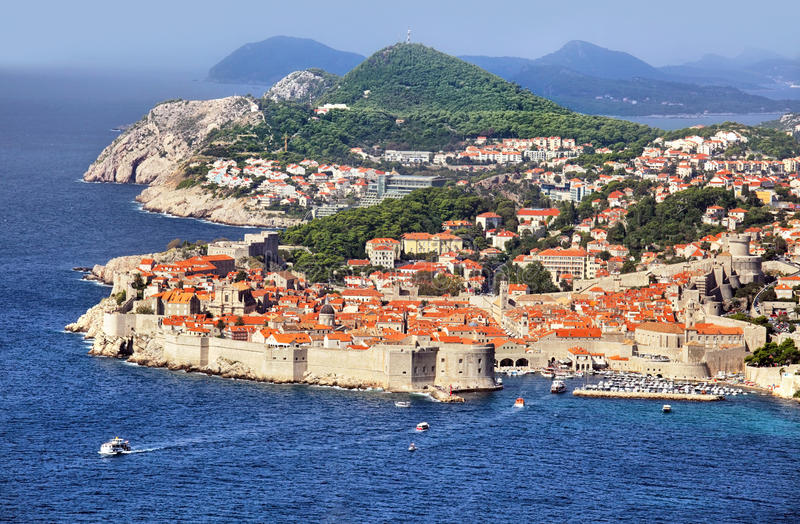 Fortaleza de Dubrovnik fotografía de archivo libre de regalías