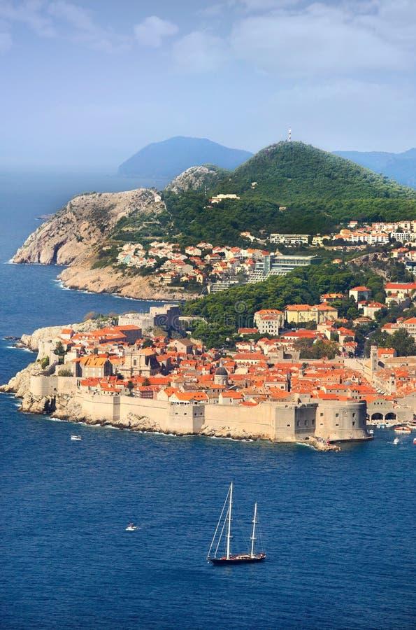 Fortaleza de Dubrovnik fotos de archivo