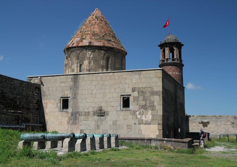 Fortaleza de Erzurum fotos de archivo