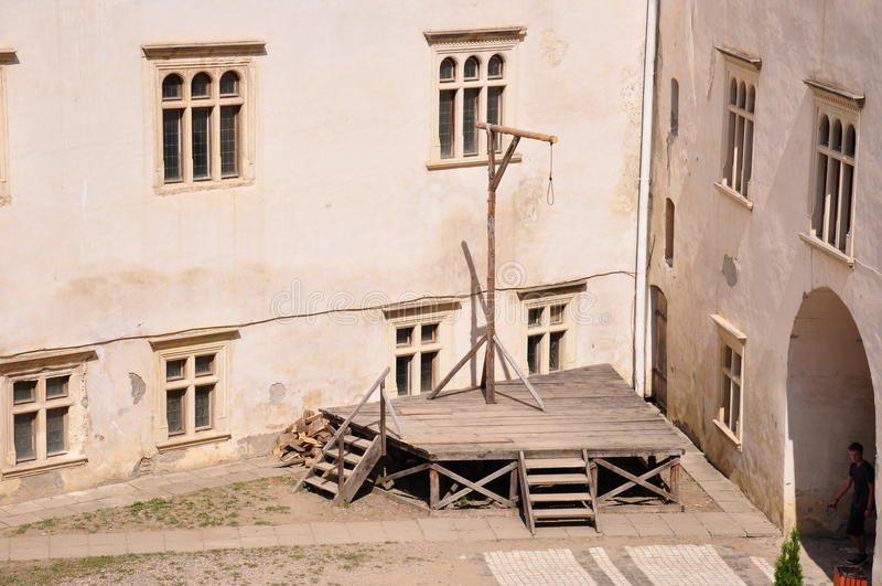 Fortaleza de Fagaras fotografia de stock