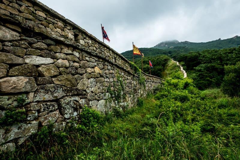 Fortaleza de Geumjung, Busan, Coreia do Sul fotos de stock