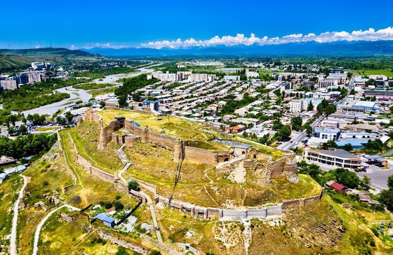 Fortaleza de Gori em Shida Kartli, Geórgia imagens de stock royalty free