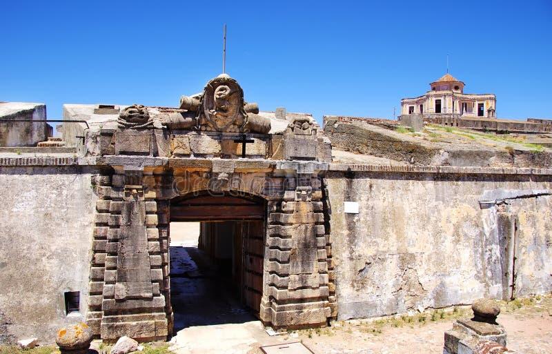 Fortaleza de Graça, Elvas, Portugal imagen de archivo