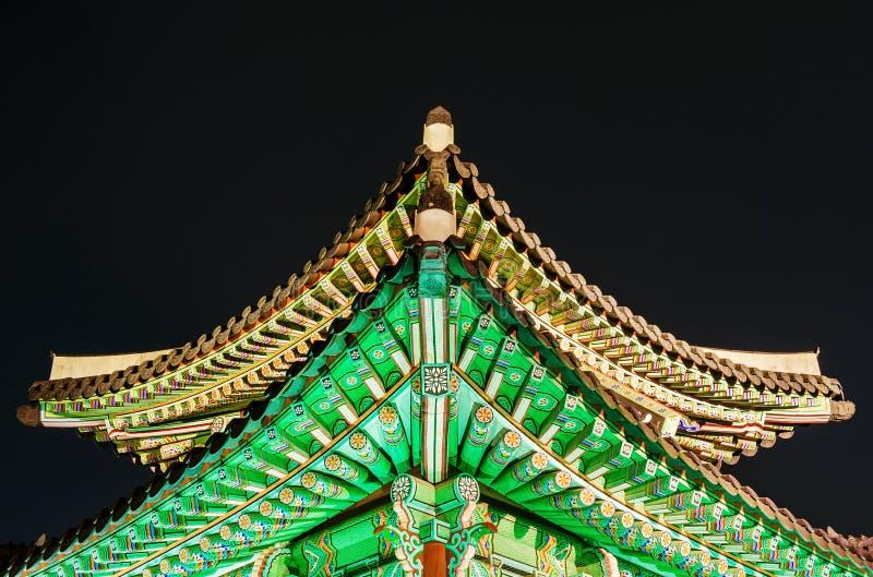 Fortaleza de Hwaseong en Suwon imagen de archivo